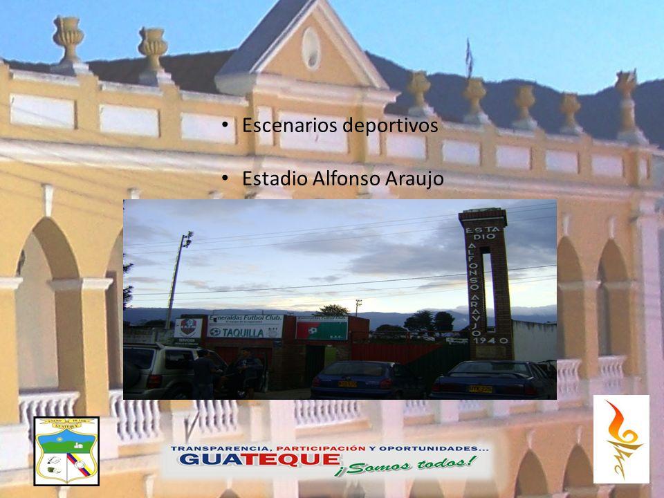 OS Escenarios deportivos Estadio Alfonso Araujo