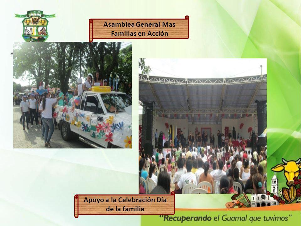 Asamblea General Mas Familias en Acción Apoyo a la Celebración Día de la familia