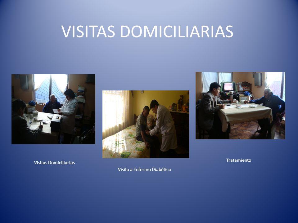 VISITAS DOMICILIARIAS Visitas Domiciliarias Visita a Enfermo Diabético Tratamiento