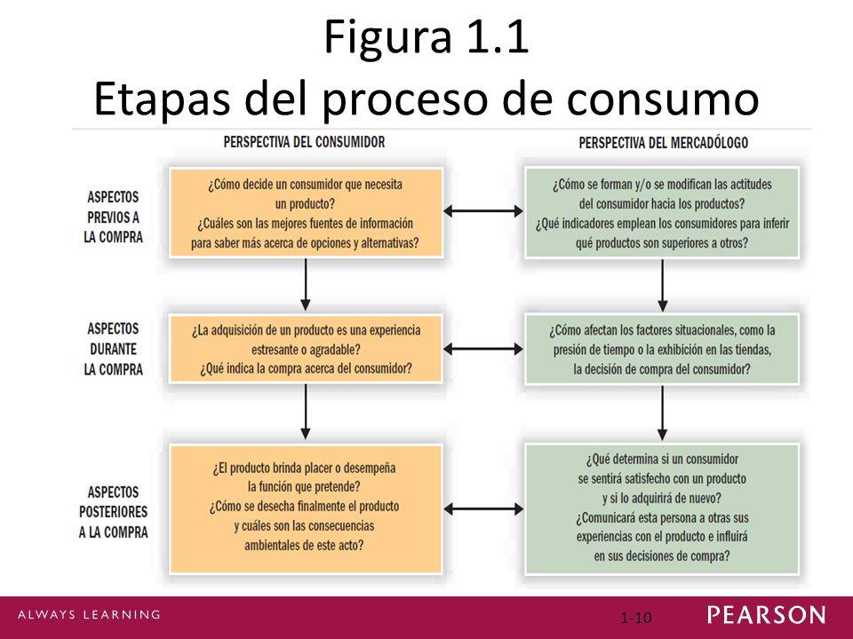 1-10 Figura 1.1 Etapas del proceso de consumo