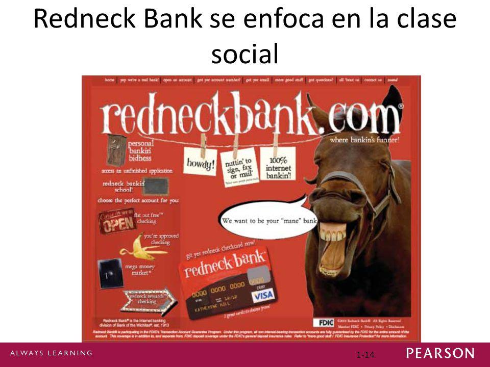 1-14 Redneck Bank se enfoca en la clase social
