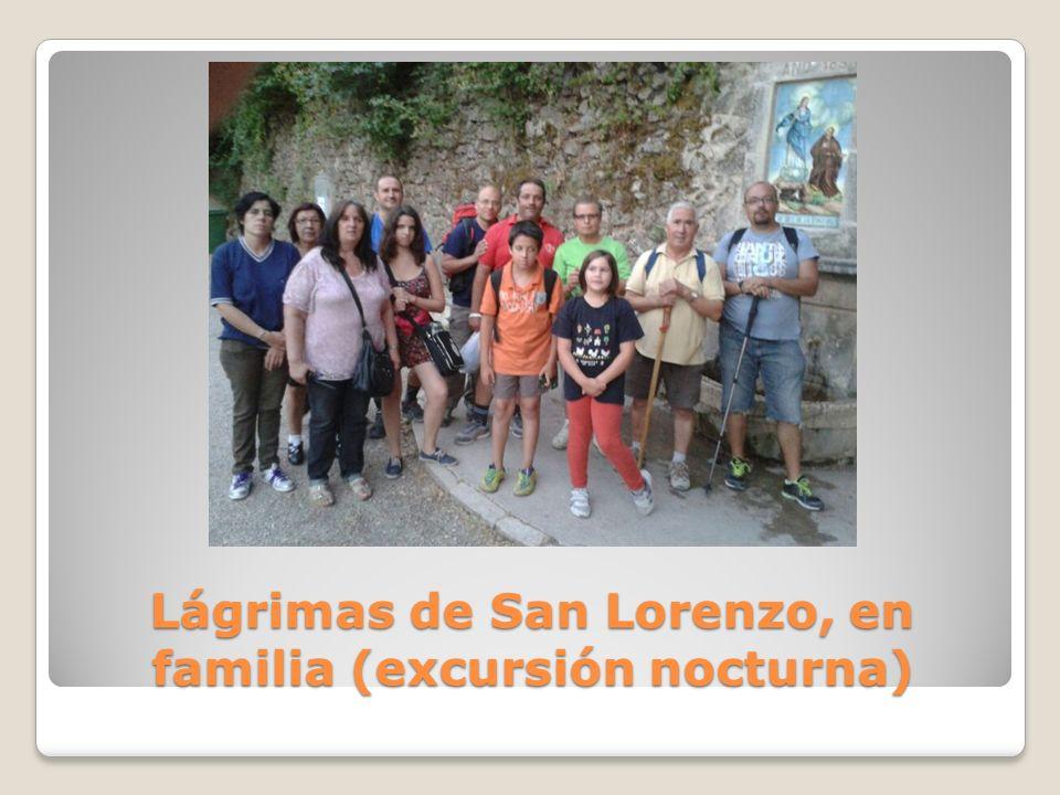 Lágrimas de San Lorenzo, en familia (excursión nocturna)
