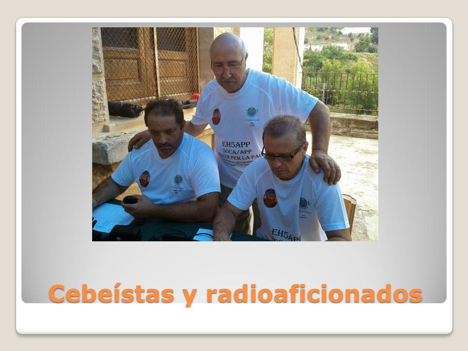 Cebeístas y radioaficionados