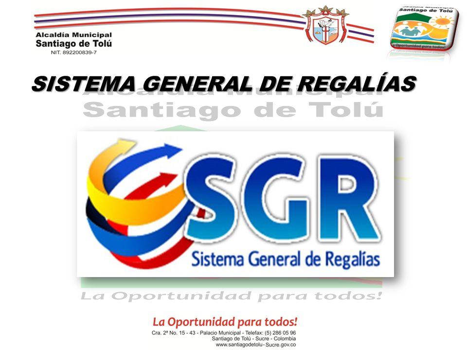 SISTEMA GENERAL DE REGALÍAS