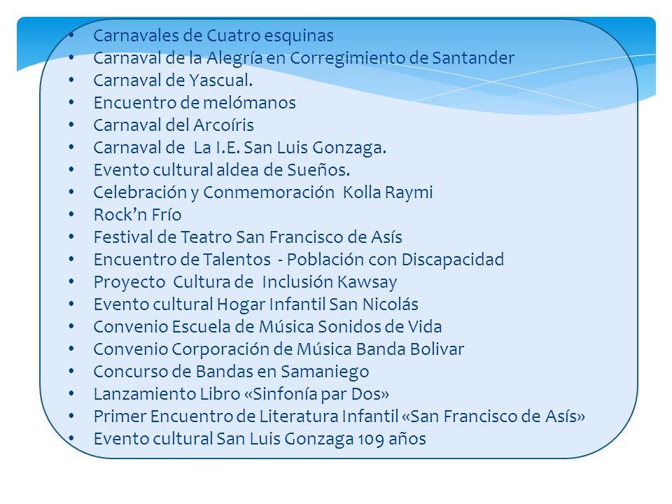 Carnavales de Cuatro esquinas Carnavales de Cuatro esquinas Carnaval de la Alegría en Corregimiento de Santander Carnaval de la Alegría en Corregimien