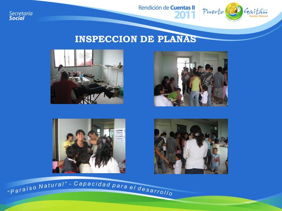 INSPECCION DE PLANAS