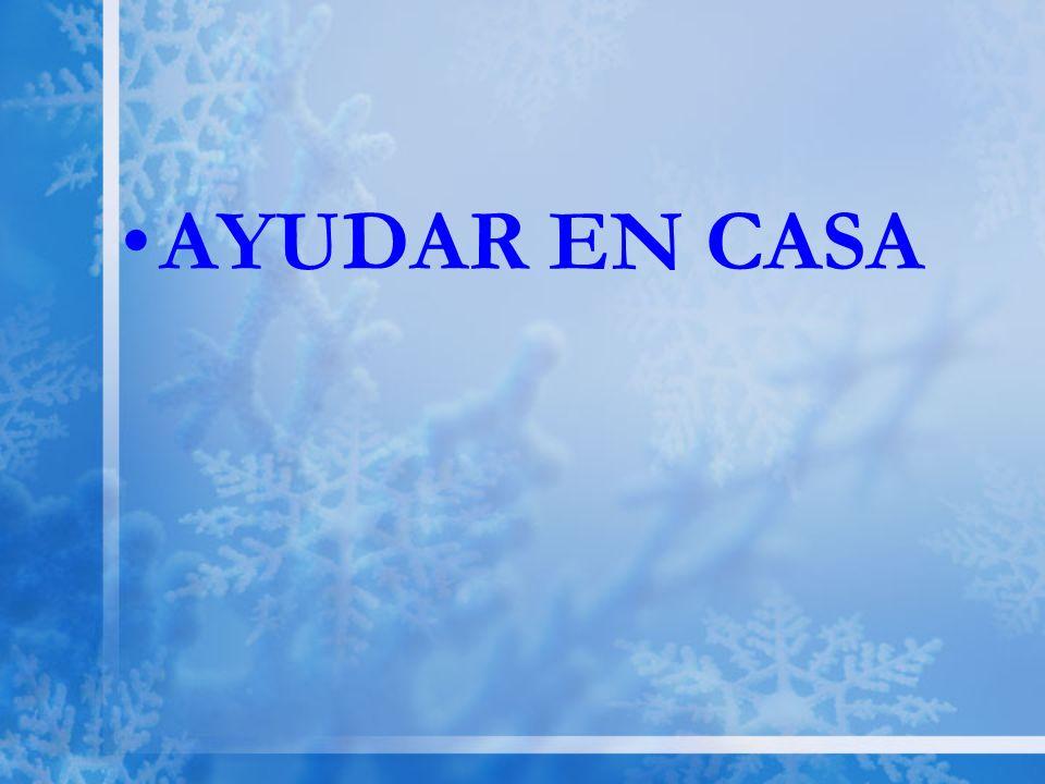 AYUDAR EN CASA