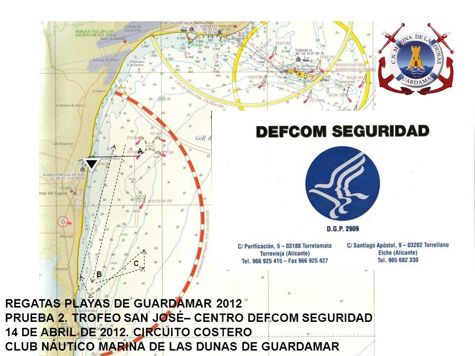 B A C REGATAS PLAYAS DE GUARDAMAR 2012 PRUEBA 3.