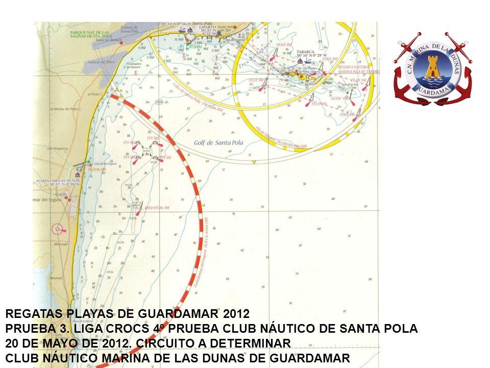 B A C REGATAS PLAYAS DE GUARDAMAR 2012 PRUEBA 5.