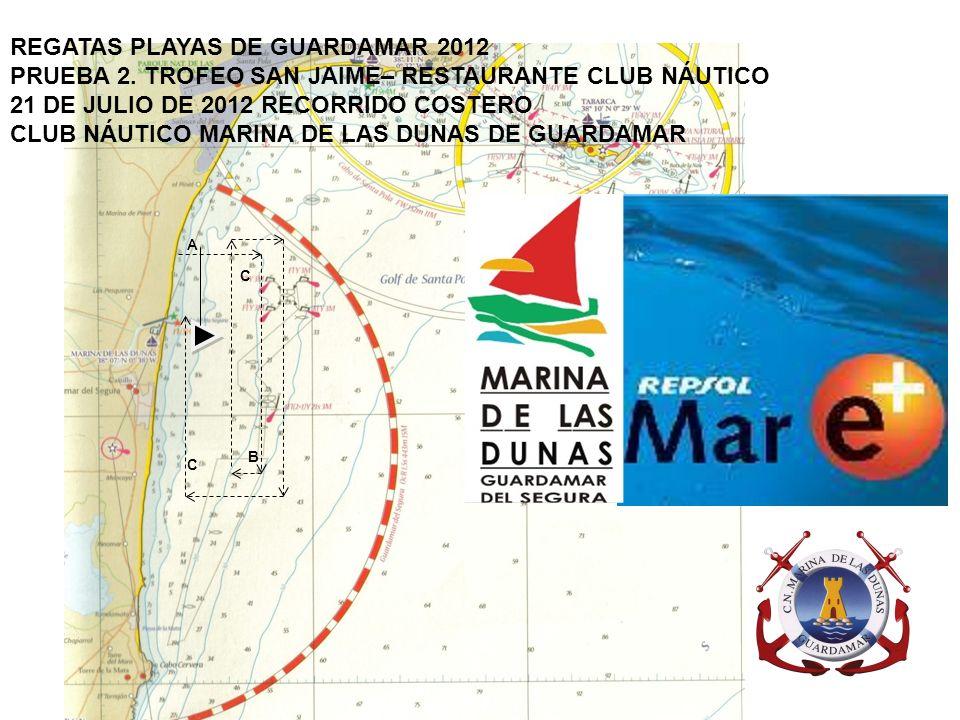 REGATAS PLAYAS DE GUARDAMAR 2012 PRUEBA 7.X TROFEO VINOS DE LA MATA.