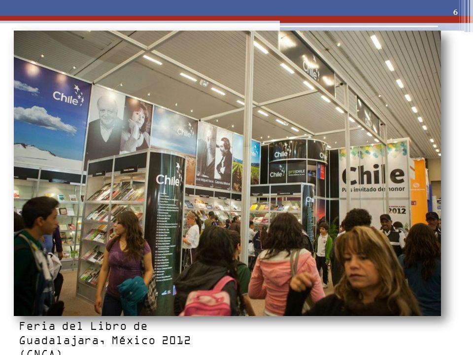 6 Feria del Libro de Guadalajara, México 2012 (CNCA)