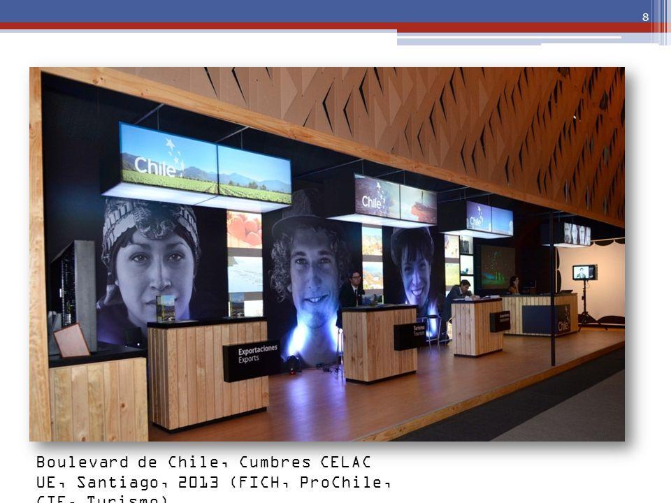 8 Boulevard de Chile, Cumbres CELAC UE, Santiago, 2013 (FICH, ProChile, CIE, Turismo)