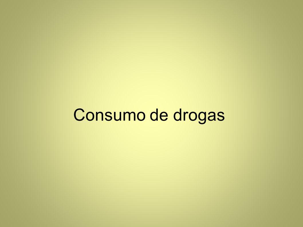 Consumo de drogas