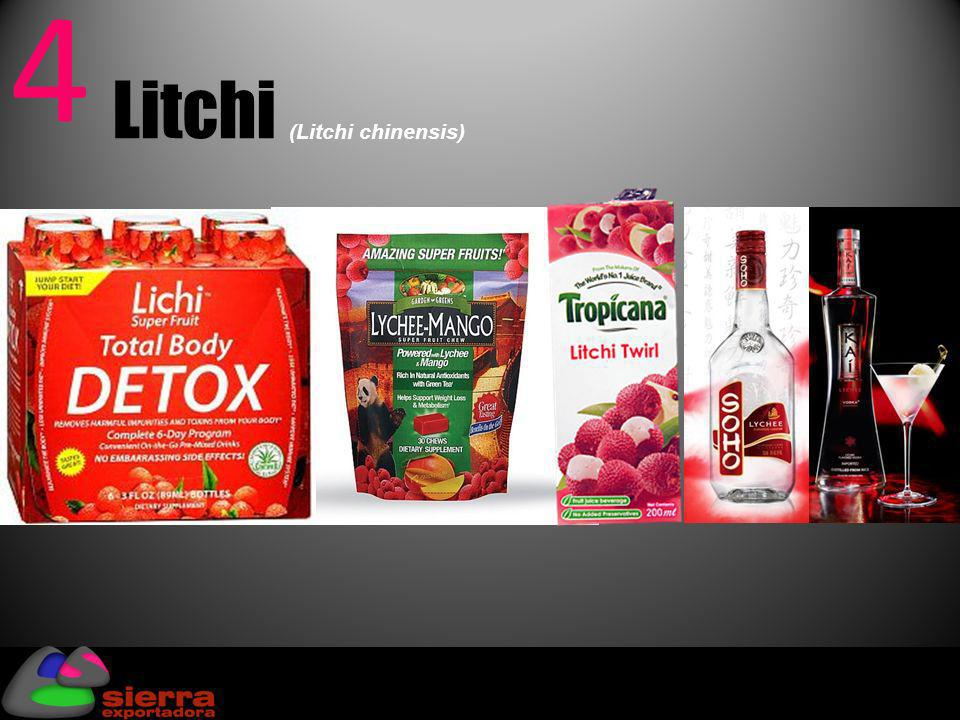 4 Litchi (Litchi chinensis)