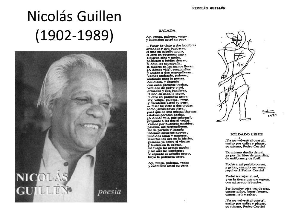 Nicolás Guillen (1902-1989)