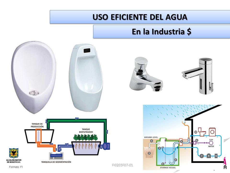 Formato: FI0203F07-01 USO EFICIENTE DEL AGUA En la Industria $