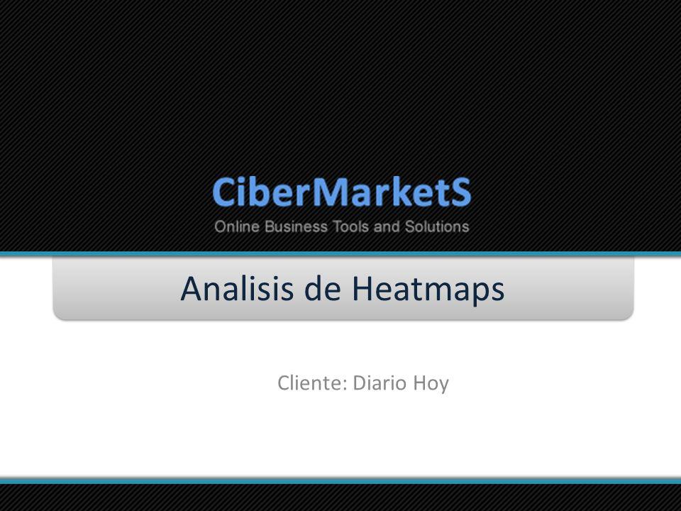 Analisis de Heatmaps Cliente: Diario Hoy