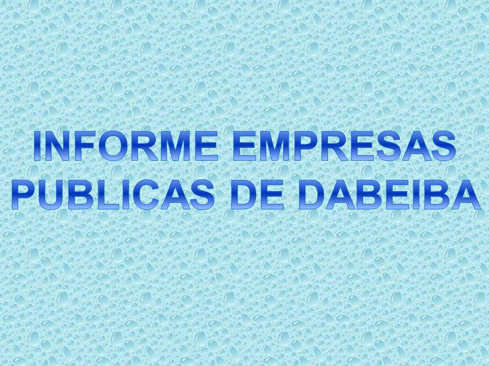 La Empresa comenzó a funcionar desde 01 de Enero de 2010, según Acuerdo Nro.