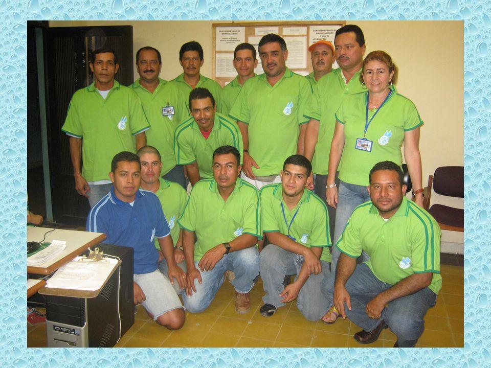 L a Empresa desde el 10 de enero de 2010, viene potabilizando el agua, y se toman muestras para análisis periódicamente.