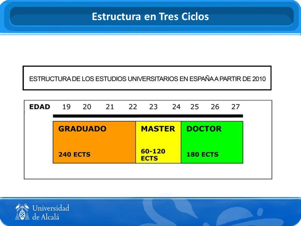 Estructura en Tres Ciclos
