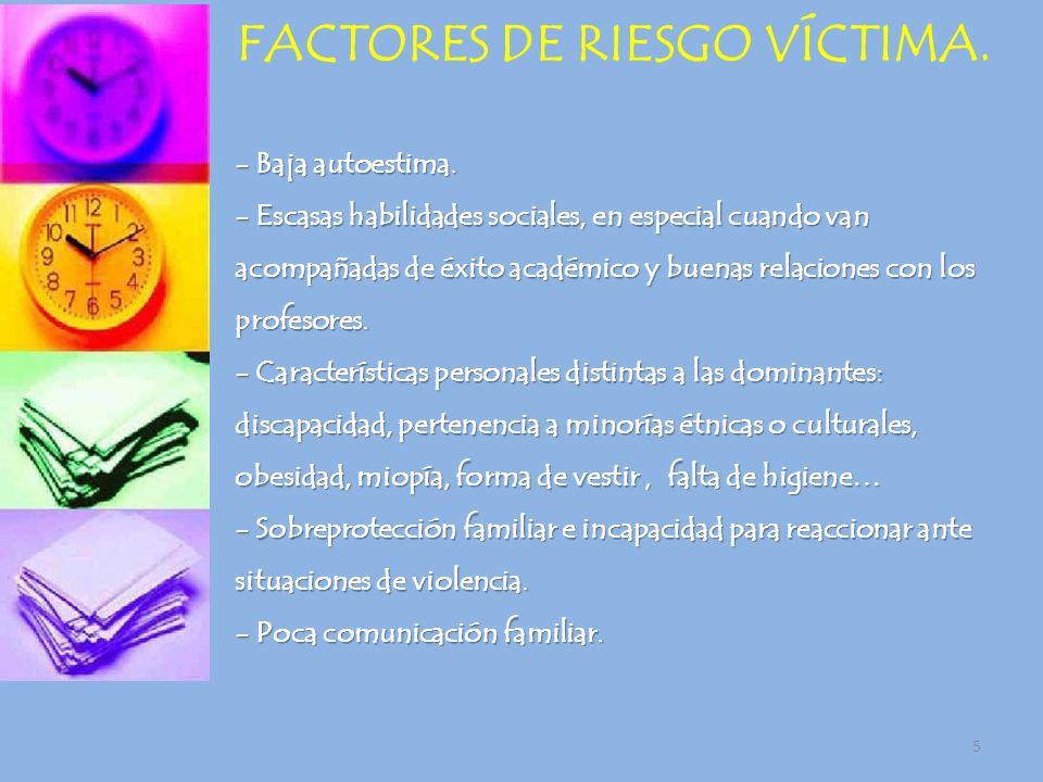 6 FACTORES EDUCATIVOS QUE FOMETAN EL ACOSO.