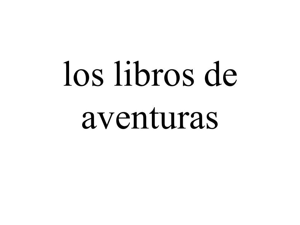 los libros de aventuras
