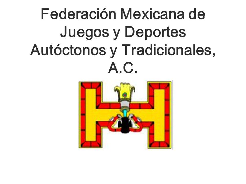 Federación Mexicana de Juegos y Deportes Autóctonos y Tradicionales, A.C.