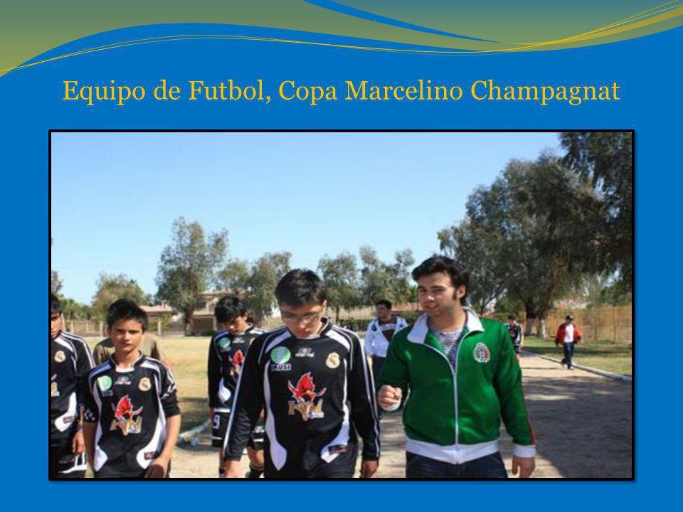 Equipo de Futbol, Copa Marcelino Champagnat