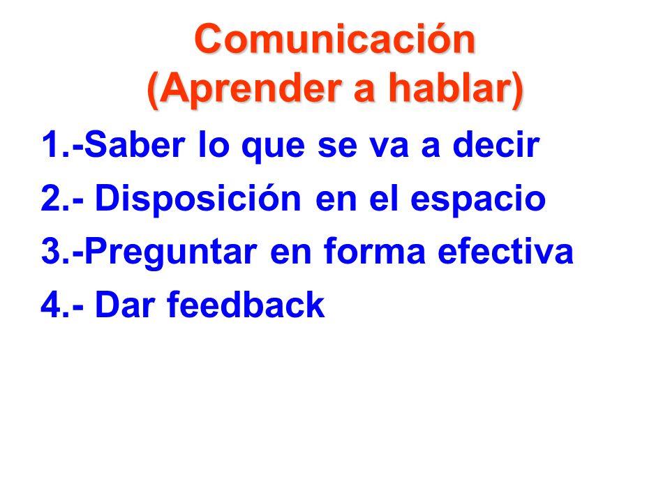 Sugerencia para desarrollar habilidades de comunicación 1.- Conocer estilo de comunicación propio 2.-Conocer características de los alumnos 3.- Mostra