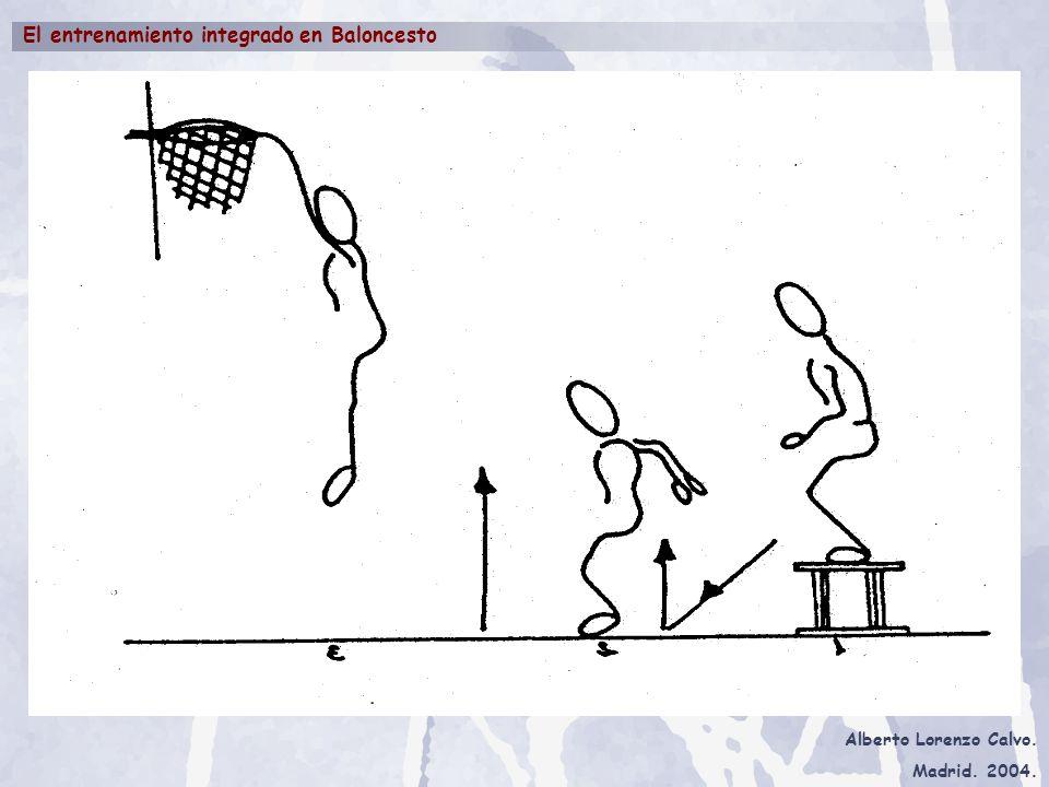 Alberto Lorenzo Calvo. Madrid. 2004. El entrenamiento integrado en Baloncesto