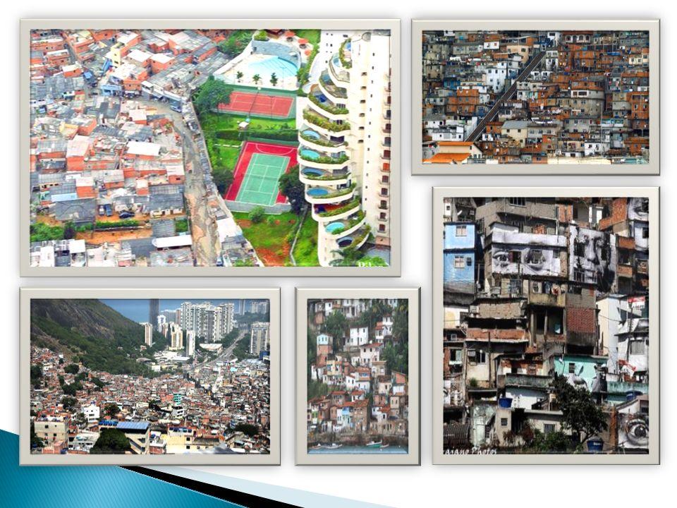 Dos millones de personas -un tercio de la población de Río- vive en unas mil favelas aproximadamente.