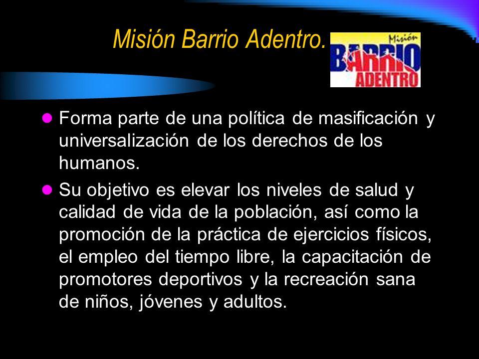 Misión Barrio Adentro.