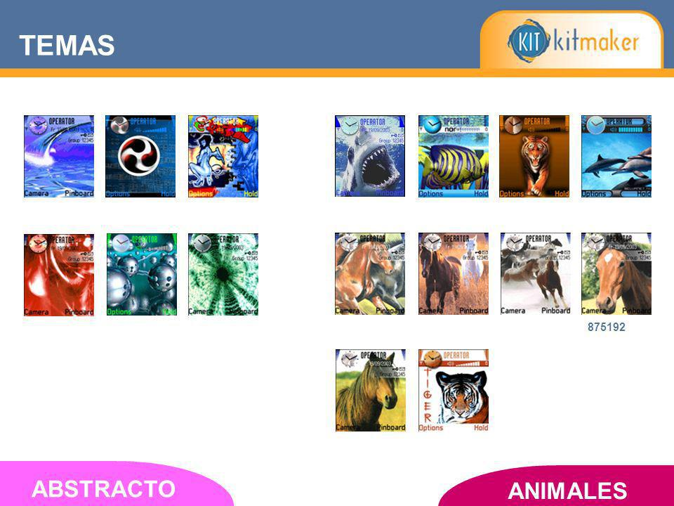 ANIMALES ABSTRACTO 875192 TEMAS