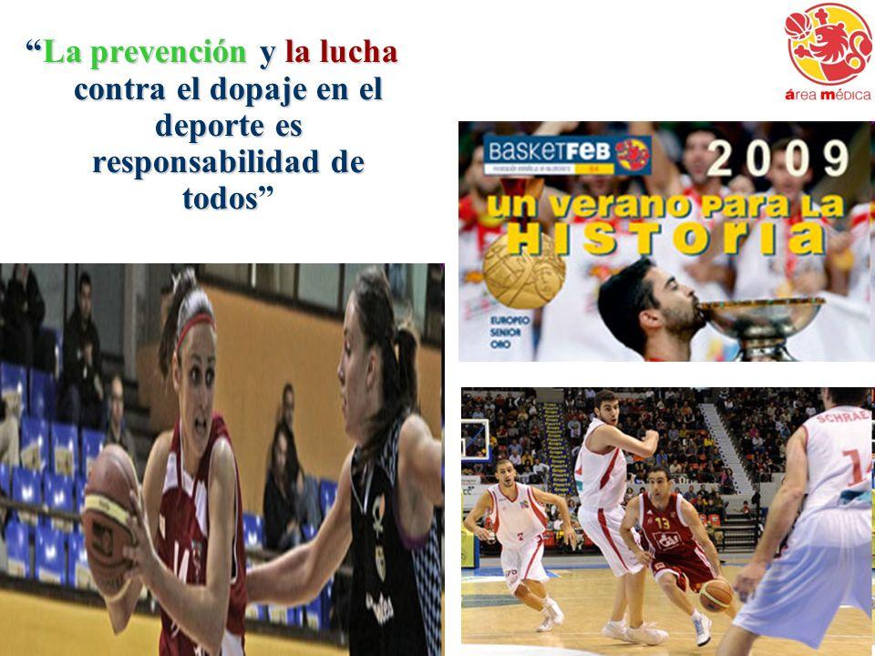 La prevención y la lucha contra el dopaje en el deporte es responsabilidad de todosLa prevención y la lucha contra el dopaje en el deporte es responsa