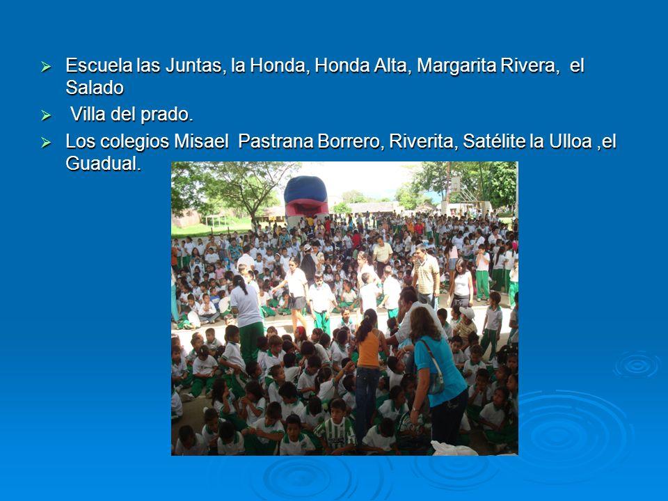 Escuela las Juntas, la Honda, Honda Alta, Margarita Rivera, el Salado Escuela las Juntas, la Honda, Honda Alta, Margarita Rivera, el Salado Villa del prado.