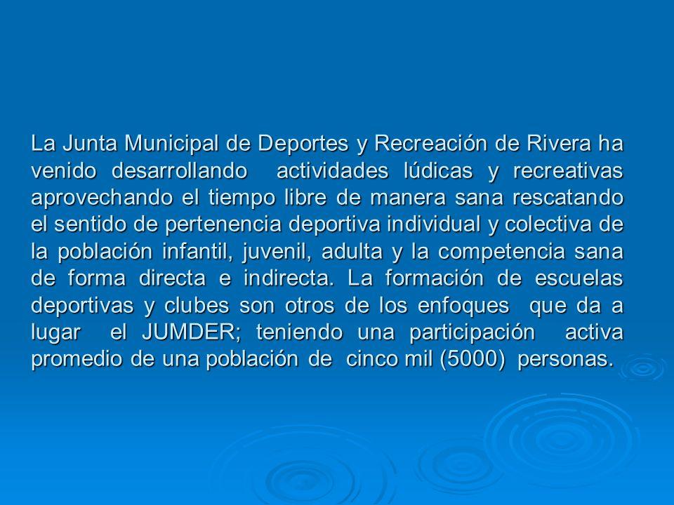 REALIZACION DE ACTIVIDADES LUDICAS Y RECREATIVAS