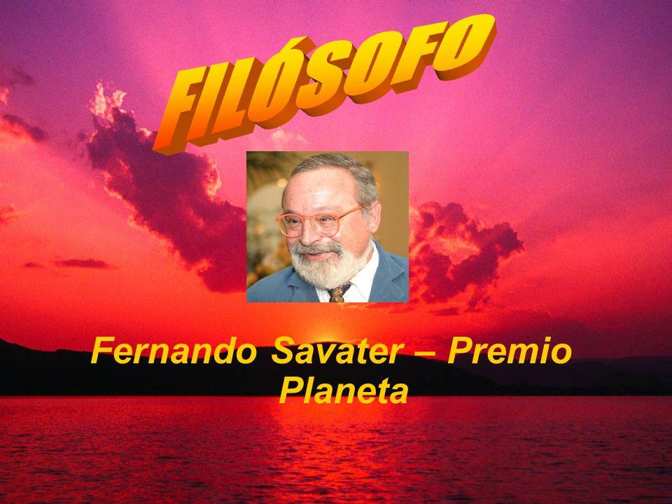 Fernando Savater – Premio Planeta