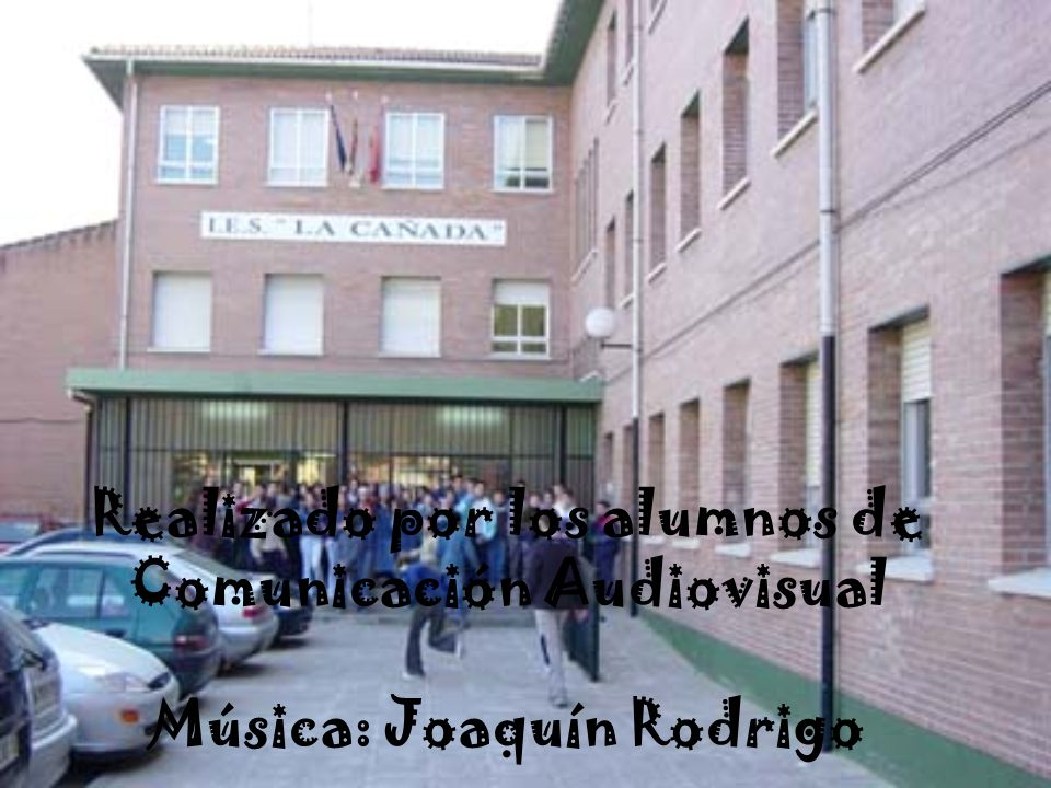Realizado por los alumnos de Comunicación Audiovisual Música: Joaquín Rodrigo
