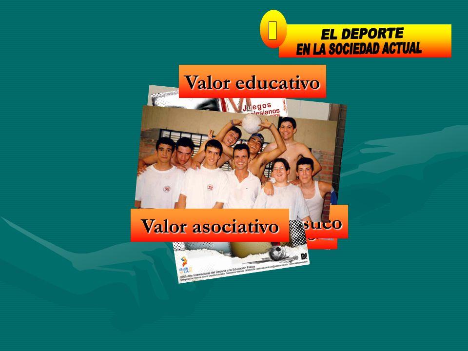 Valor lúdico Valor hedonístico Valor educativo Valor asociativo 1