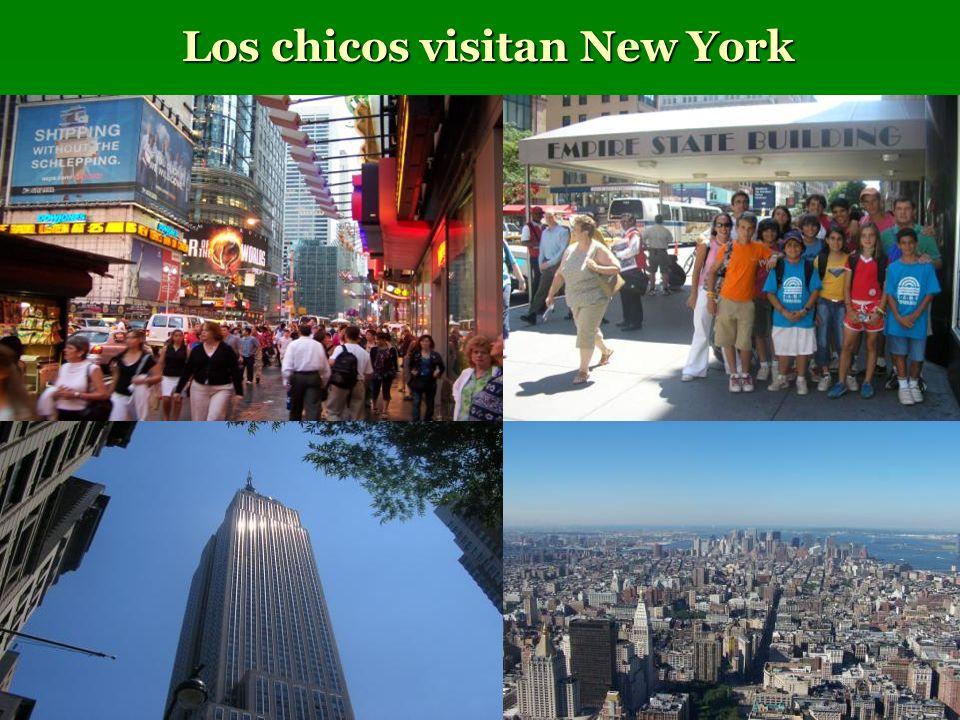 Los chicos visitan New York