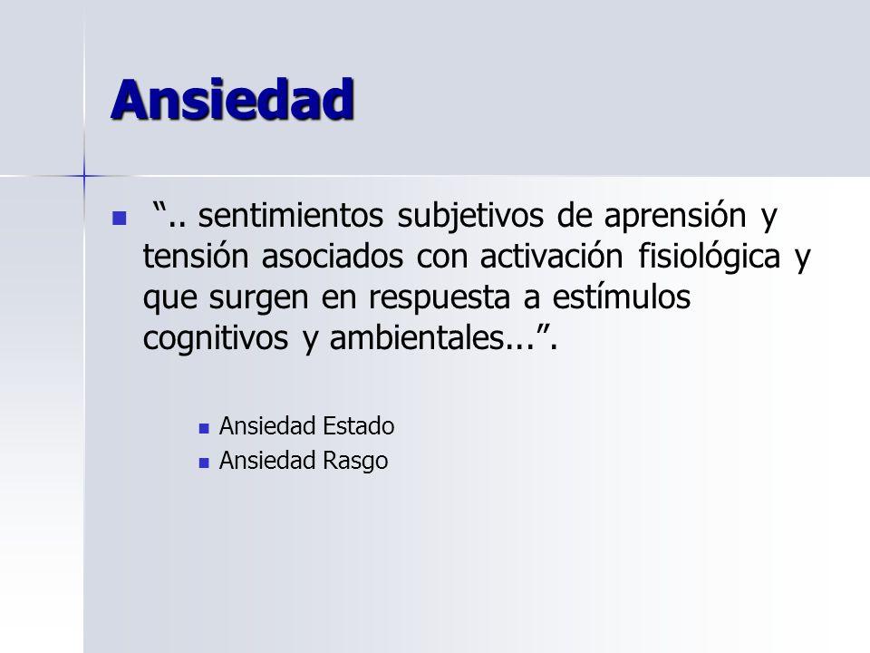 Ansiedad..