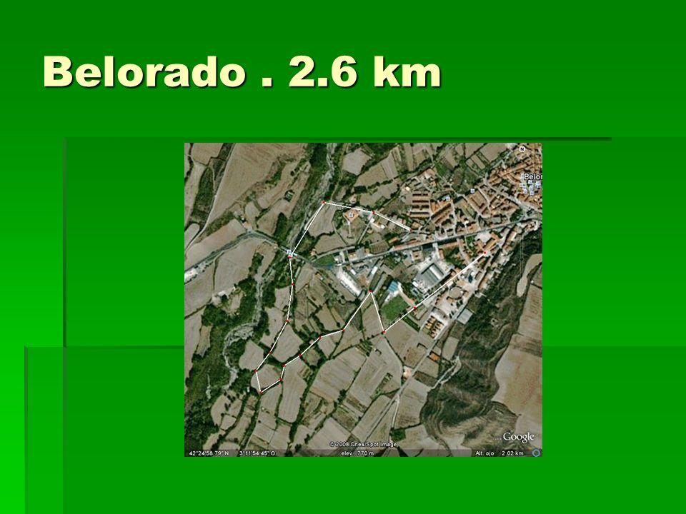 Belorado. 2.6 km