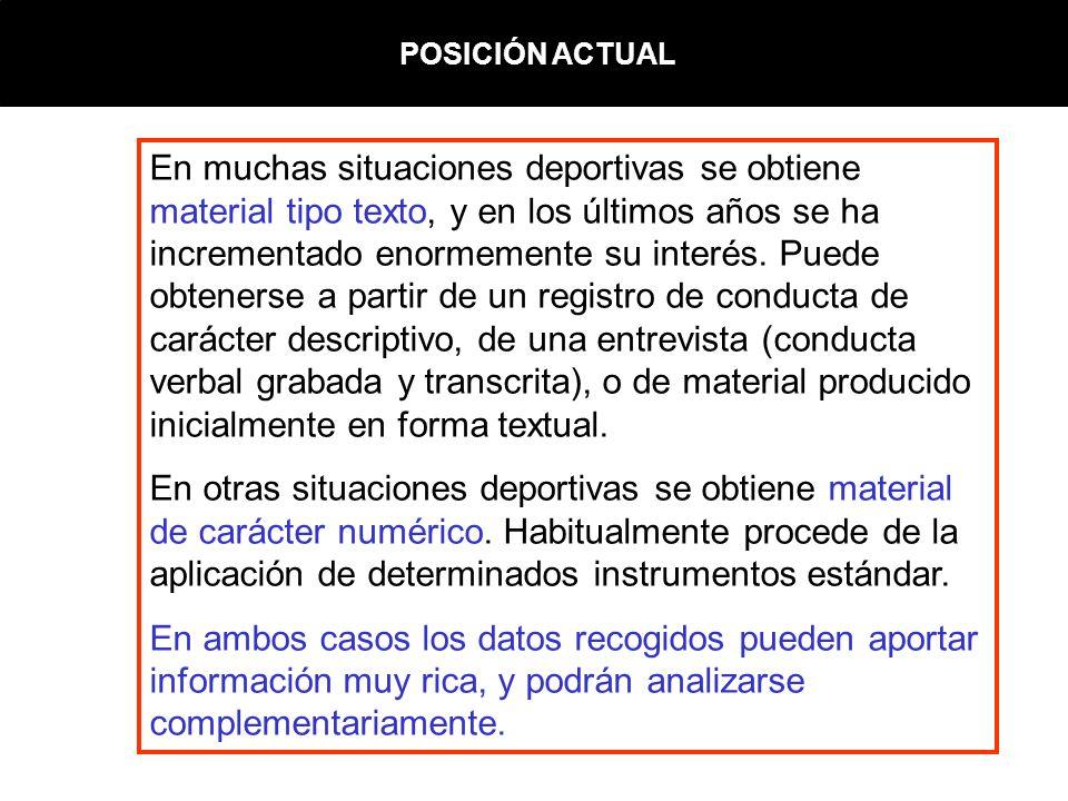 ANÁLISIS DE DATOS CUALITATIVOS DESDE UNA COMPLEMENTARIEDAD METODOLÓGICA