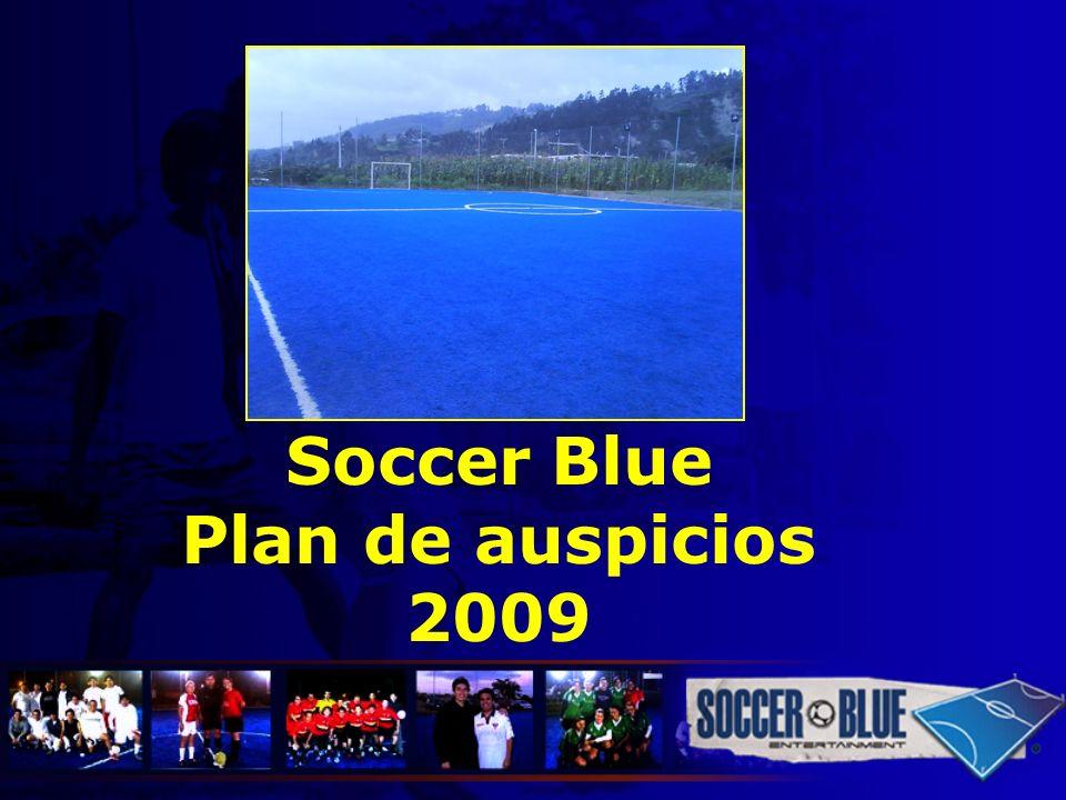 Soccer Blue Plan de auspicios 2009