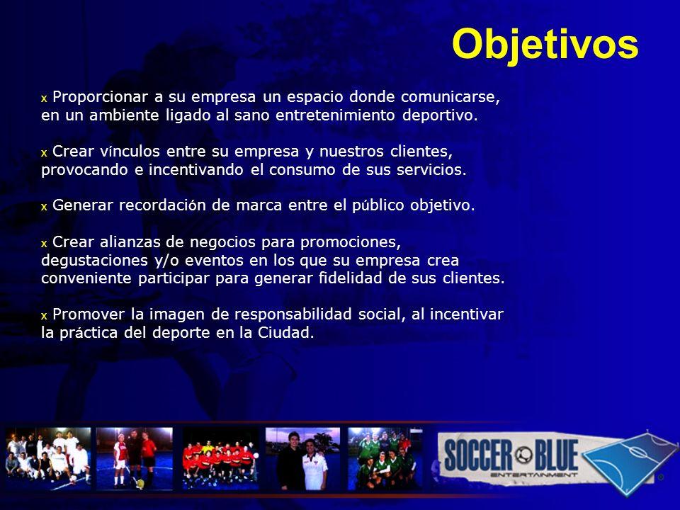 Nuestros servicios x Soccerblue está provisto de 2 canchas en césped sintético azul (las únicas en Quito) con medidas reglamentarias FIFA para fútbol 7, de mil metros cuadrados cada una, completamente iluminadas.
