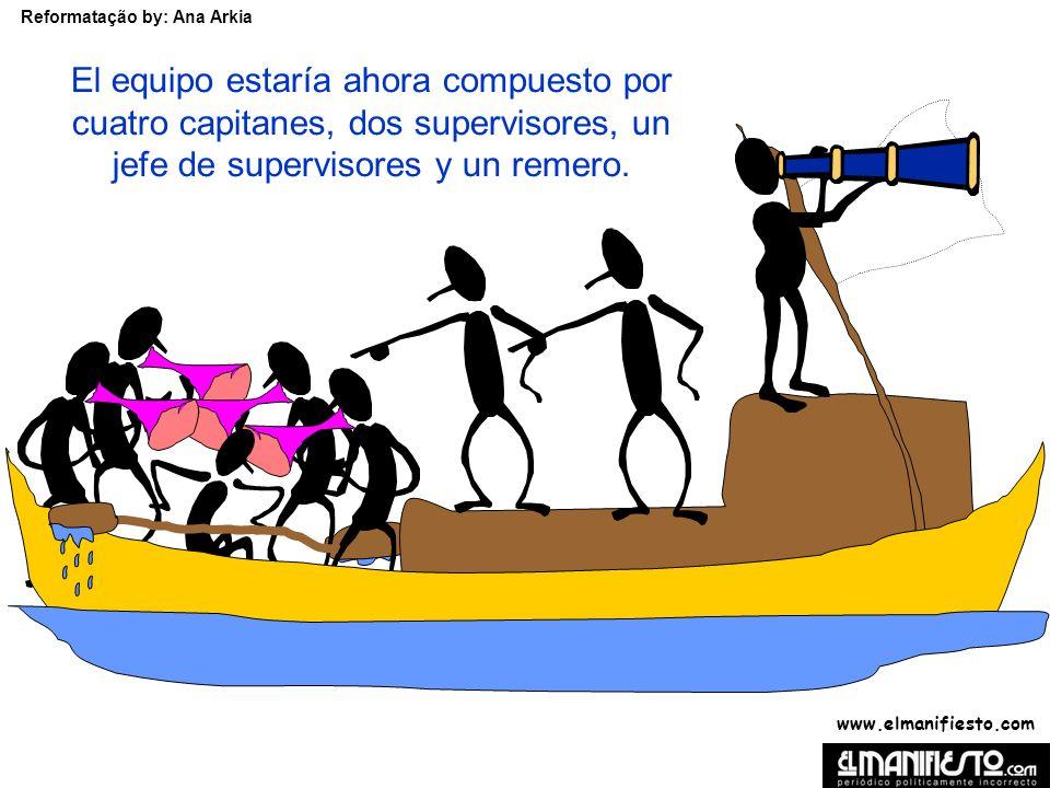 www.elmanifiesto.com Reformatação by: Ana Arkia En base al informe de los especialistas, la Junta decidió cambiar la estructura del equipo.