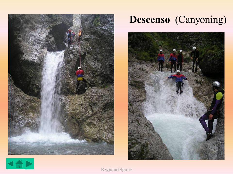 Regional Sports Deportes Descenso de Cañones (Canyoning) Hochimst (Tirol)