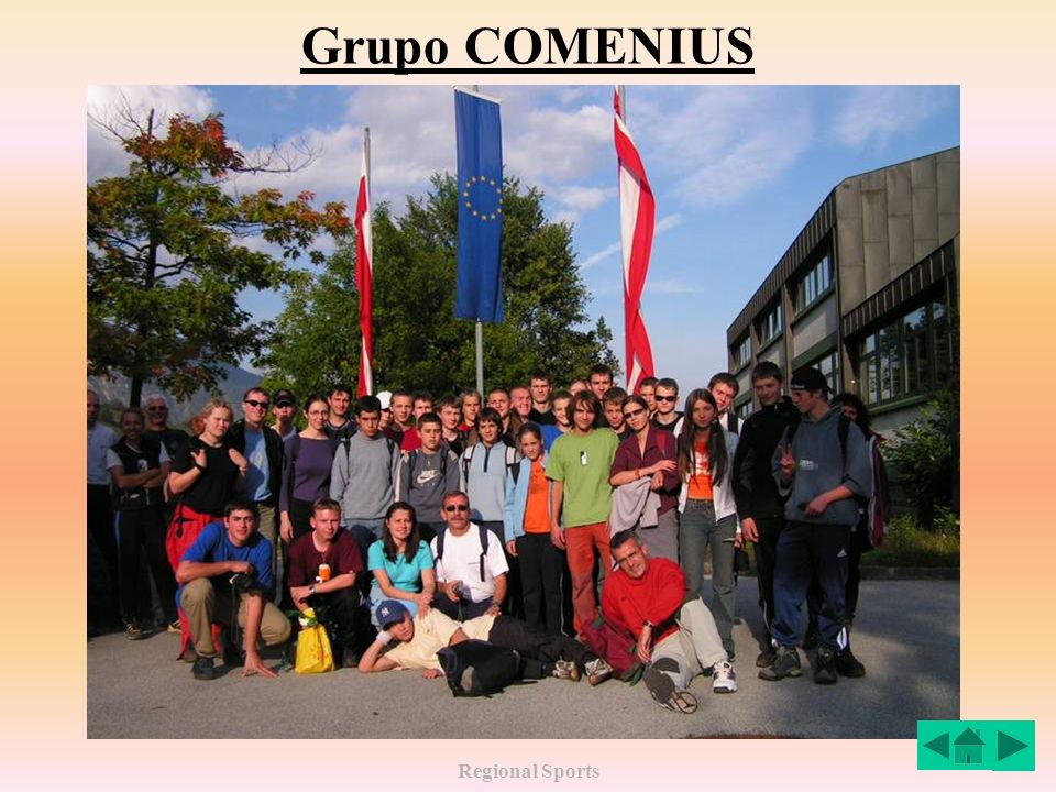 Regional Sports Grupo COMENIUS
