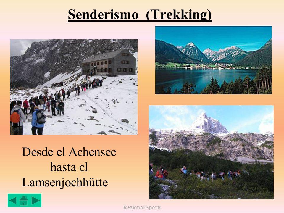 Regional Sports Senderismo (Trekking) Desde el Achensee hasta el Lamsenjochhütte