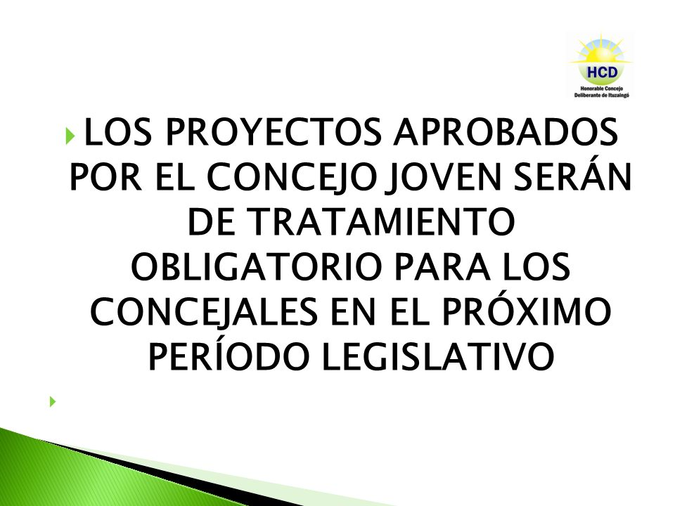 Se presentará en forma de proyecto de ordenanza toda moción o proposición que cree, reforme, suspenda o derogue una reglamentación cuyo cumplimiento compete al Intendente Municipal..